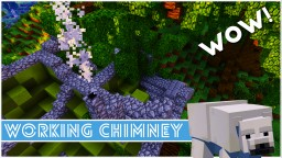 Minecraft - How To Make A Working Chimney Minecraft Map & Project