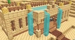 Chrome - Desert House Minecraft Map & Project