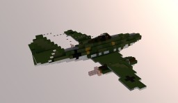 Me 262 Schwalbe (4:1) Minecraft Map & Project