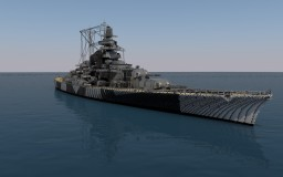 DKM Tirpitz - 4:1 Scale Minecraft Map & Project