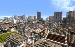Sayama City -Japanese modern city world- Minecraft Project