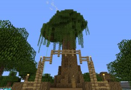 Server Build: the Treehouse Minecraft Map & Project
