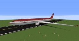 Airbus A330-300 LTU Minecraft Map & Project