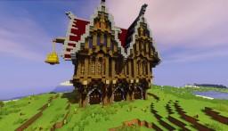 Steampunk warehouse Minecraft