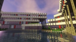 Modern Office Building (On the Greenfield City Server) Minecraft Map & Project