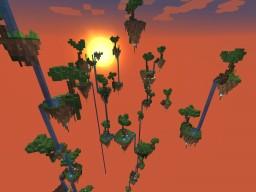 Skylands Survival Challenge  [1.8, 1.9, 1.10, 1.11] Minecraft Map & Project