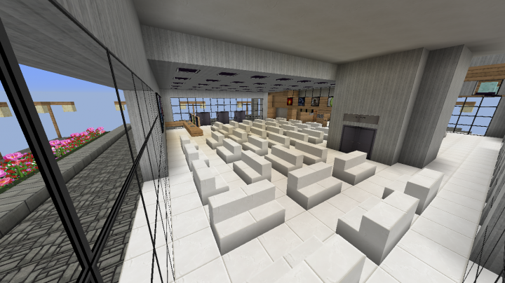 Minecraft 1.10.2 - Modern Hospital WITH interior! - By ...