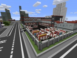 Polish Fire Station Minecraft Map & Project