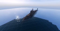 Akula III (Not Typhoon)-class Nuclear Attack Submarine - First of its Kind for Minecraft! Minecraft Map & Project