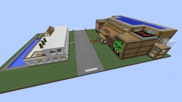 The beginning of our CITY Minecraft Map & Project