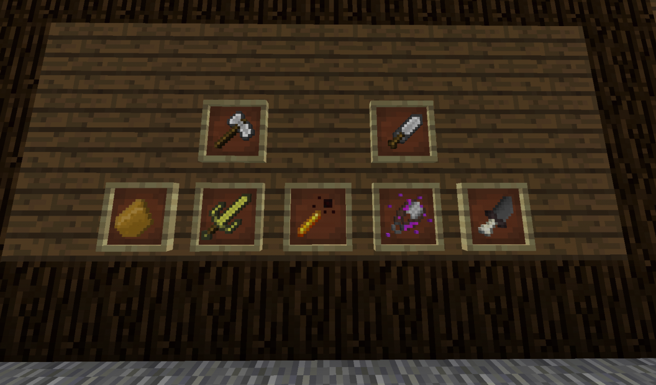 how to get custom weapons in minecraft