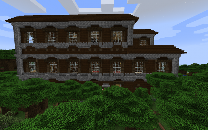 Woodland mansion spawn (Done) Minecraft Project