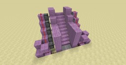 Redstone| Simple Disappearing and Reappearing Stairs Minecraft Map & Project