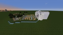 Minecraft 1.10.2 - Modern City Park with Outdoor event dome - By Tony_PolarGaming Minecraft Map & Project