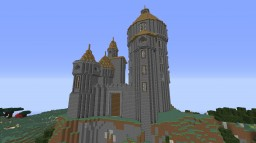 Project Red - Smalled Size - Castle Minecraft Map & Project
