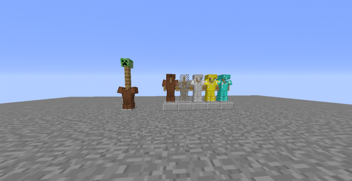 minecraft how to put arms on an armor stand