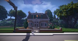 Dutch Cape Cod House Minecraft Project
