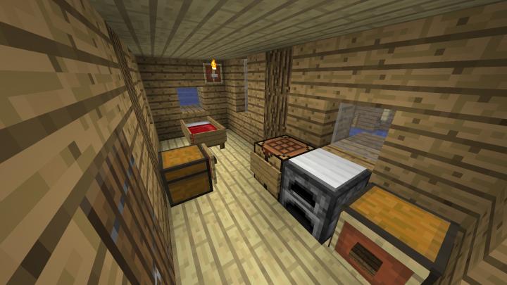Inside the fishermans house