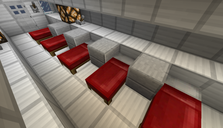 Bed Room In ISS