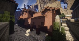 Roman Domus - Next to Mars temple Minecraft