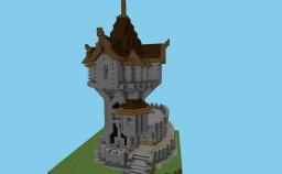 Tower of the alchemist  Башня алхимика Minecraft Map & Project