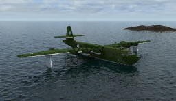 German flying boat  BV 238 (4:1) Minecraft Map & Project