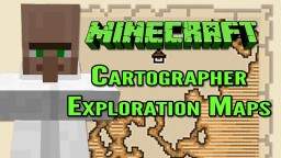 Minecraft 1.11 | Cartographers and Exploration Maps Minecraft Blog Post