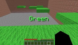 Command Block Minigame: Color Run Minecraft