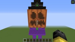 Burning Pumpkin Witch (1.11) Minecraft Map & Project