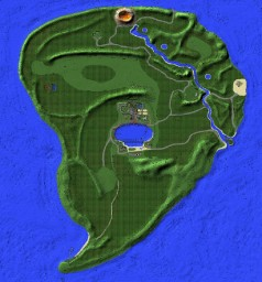 Custom Jurassic World Isla Nublar Minecraft Map & Project