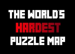 The World's Hardest Puzzle Map [1.11+] Minecraft Project