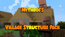 Village Structure Pack for Structure Blocks Minecraft