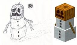 Faded Memories - Life Of A Snow Golem (Competition) Minecraft Blog Post