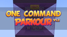 One Command Parkour System v1.2 Minecraft Map & Project