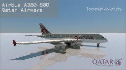 Airbus A380-800 Qatar Airways [+Download] Minecraft Map & Project