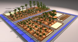 Download-V1 EXOTIC and DESERT TREES - shematics pack Minecraft