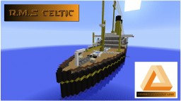 RMS Celtic (Orange Triangle Line) Minecraft Map & Project