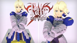 Fate Stay/Night - Arturia Pendragon - Saber Minecraft Project