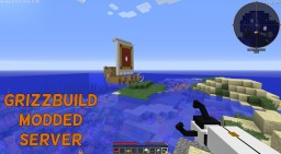 GrizzBuild 24/7 Modded Server - Automation, Exploration, Plugins, Fun Mods, Essentials, PvP, and Lots MORE :D Minecraft Server