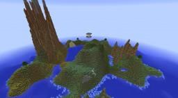 6 Player Survival PvP Island Brawl Minecraft Map & Project