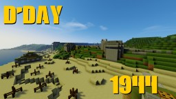 Minecraft D'Day Minecraft Map & Project