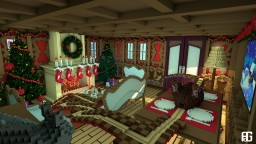 Christmas room - CubeCraft Games map Minecraft Project