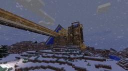 Snowy Cabin Retreat Minecraft Map & Project