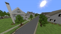 Walking Dead Alexandria (BEST VERSION) Minecraft Project