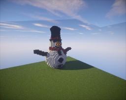 Snowman Minecraft Map & Project
