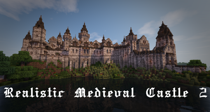 Realistic Medieval Castle 2 With Interior Download