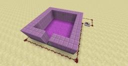 Redstone| Carpet Lava and Drop Trap