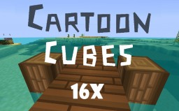 Cartoon Cubes [x16 for 1.12.2] Minecraft