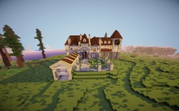 Lakeside Mansion Minecraft Map & Project