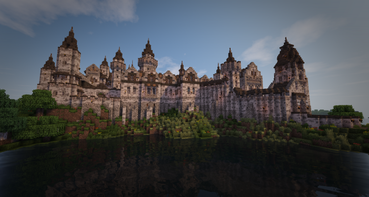 Realistic Medieval Castle 2